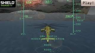Play! PS2 Emulator for Android - Operation Air Assault ingame (Shield Android TV)