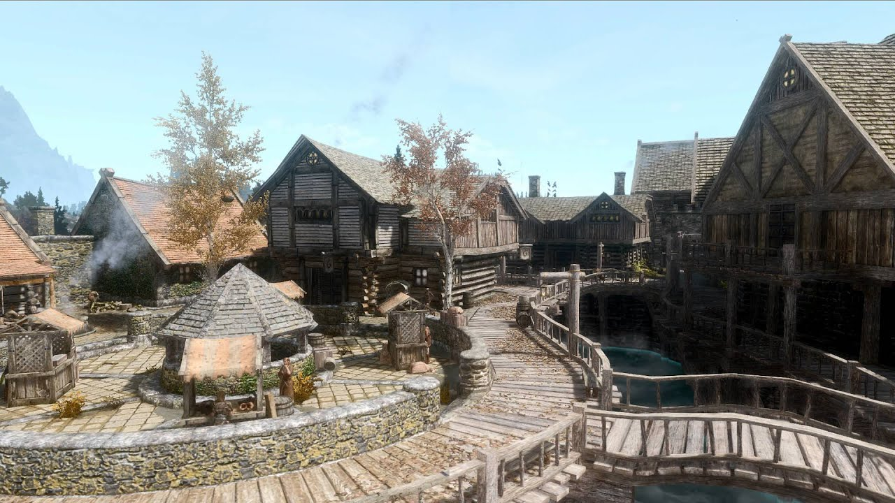 Skyrim se mods: tamriel reloaded hd se youtube.