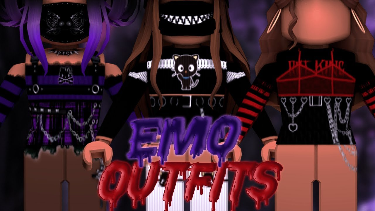 5 Aesthetic Emo Grunge Girls Outfits Roblox Bellarosegames