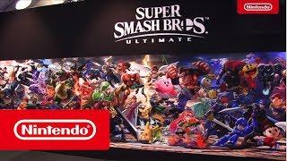 Super Smash Bros. Ultimate - Premières réactions durant GameForce (Nintendo Switch)