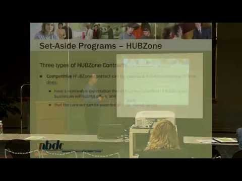 HUBZone Set-Aside Program and Certification