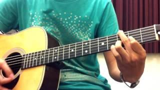 [吉他譜] 盧廣仲 - 只有夜來香(伴彈)
