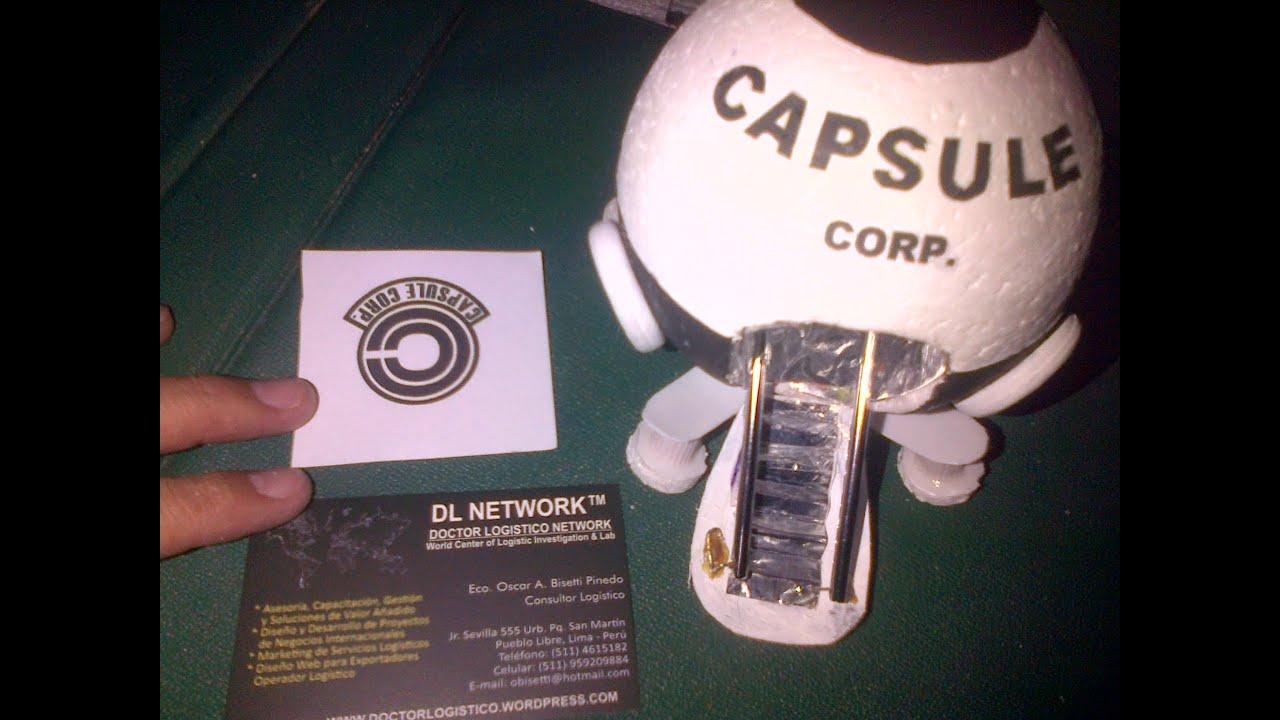 Doctor Logistico Maqueta De La Nave Goku Capsule Corp