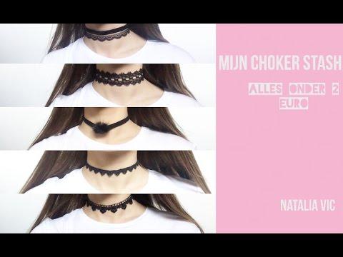 MIJN CHOKER STASH (ALLES ONDER 2 EURO) - NATALIA VIC