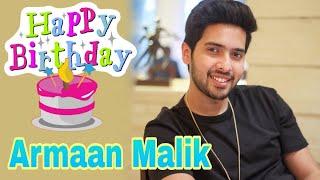Armaan Malik 23rd Happy Birthday special || cuteness overload || R B YouTube 2018