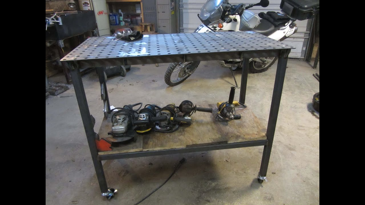 Certiflat Welding Table Build Youtube