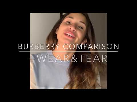 Burberry Boots Comparison + Wear And Tear