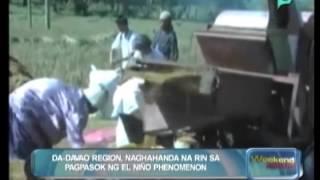 [The Weekend News] DA-Davao region, naghahanda na rin sa pagpasok ng El Niño phenomenon [05|17|14]