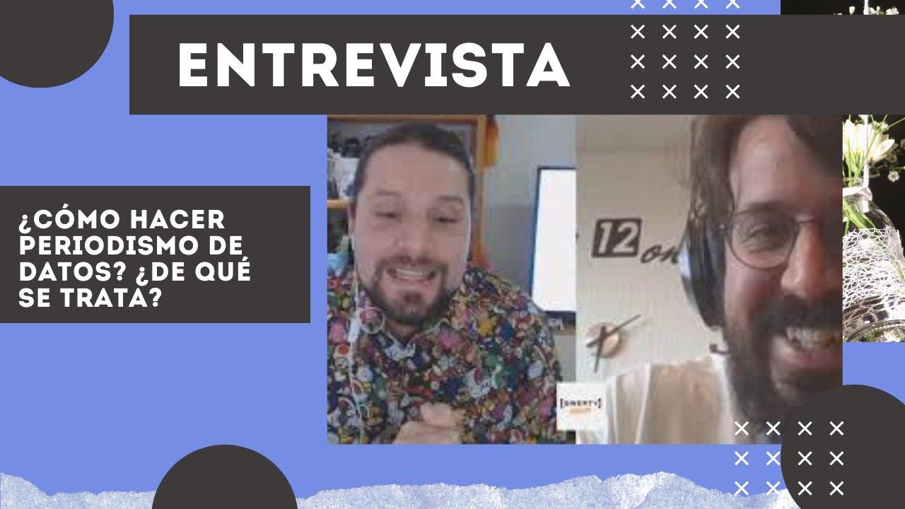 ¿Cómo hacer periodismo de datos? ¿De qué se trata? Entrevista con Eduard Martín-Borregón de Poder