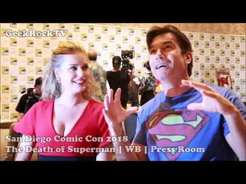 SDCC 2018  The Death of Superman  Jerry O'Connell & Rebecca Romijn