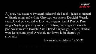 Archiwum: BIBLIA NA CO DZIEŃ: Ewangelia Marka #12 cz.2