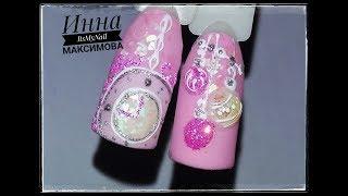 ❄ НОВОГОДНИЙ дизайн ногтей ❄ Дизайн ногтей гель лаком ❄ Nail Design Shellac ❄