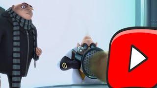 Gru Destroys Youtube Kids