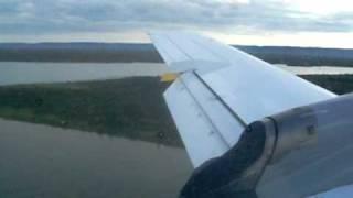 Pouso Embraer EMB-120 Brasilia em Palmas (SBPJ) - Sete Linhas Aéreas