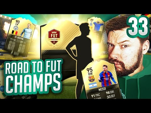 FUT CHAMPS REWARD PACKS! - FIFA 17 ROAD TO FUT CHAMPS #33
