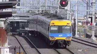 4K Metro Trains Melbourne at East Richmond, Jolimont, Westall & McKinnon