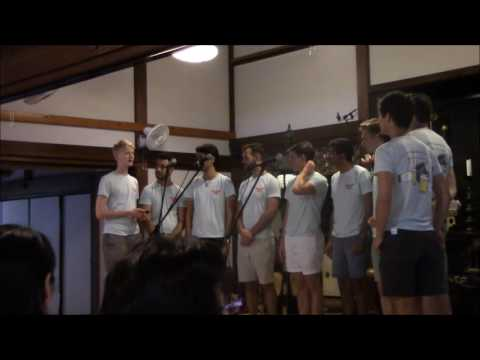 The Yale Whiffenpoofs 2016 in Kamakura(excerpts)