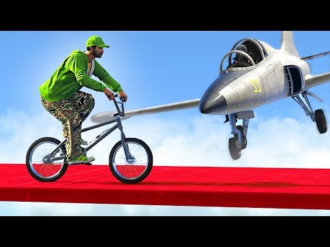 Thumbnail: SUICIDAL PLANES vs. BMX BIKERS! (GTA 5 Funny Moments)