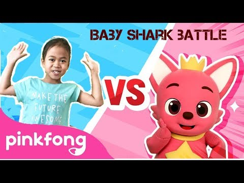 baby-shark-dance-battle- -baby-shark-challenge- -baby-shark-vs-pinkfong