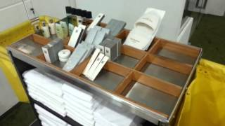 Housekeeping Room Attendance Trolley