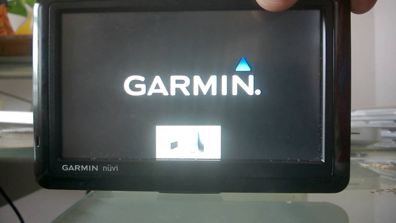 How To Update Garmin >> Garmin Nuvi 1490 How To Go Past The Computer Update Icon
