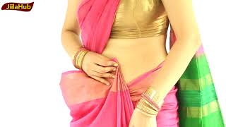 Watch If You Want To Learn Indian Saree Blouse Draping Perfectly   See How To Wear Sari Very Easily