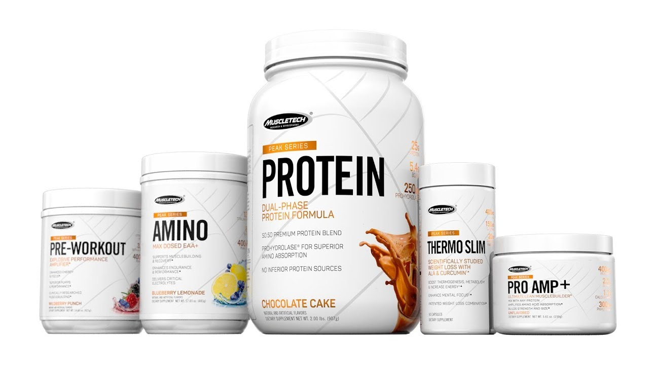 Well rounded Muscletech Peak Series only available at the Vitamin Shoppe