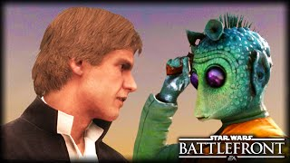 When Han Solo Meets Greedo : STAR WARS Battlefront Machinima
