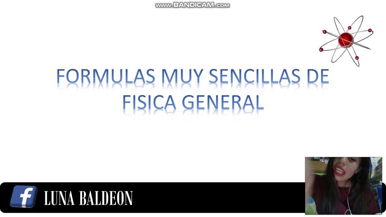 Tutorial de formulas de fisica general youtube.