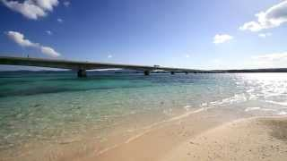 沖縄県 古宇利ビーチ [HD]  - Kouri beach, Kouri Island, Okinawa Prefecture,Japan