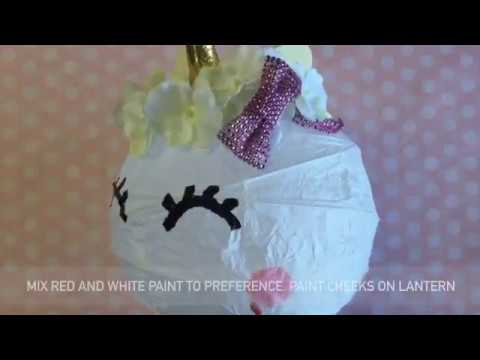Diy do it yourself magical unicorn lantern how to craft tutorial diy do it yourself magical unicorn lantern how to craft tutorial solutioingenieria Gallery
