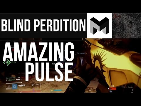Blind Perdition (Adept) Review: The Best Pulse Rifle in Destiny Rise of iron