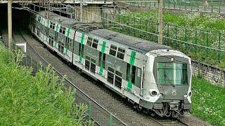 MI2N et MI09 du RER A à Vincennes