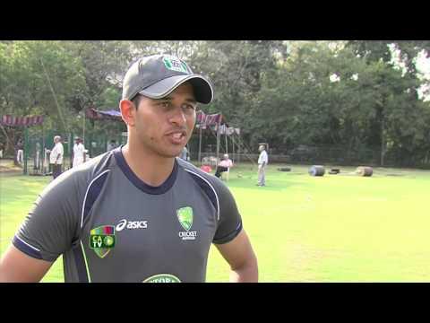 Usman Khawaja post match in India - Feb 18th