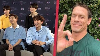 John Cena Answer To BTS (방탄소년단 )  About If he's an ARMY