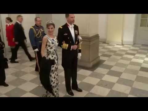 Gala for Margrethe at Christiansborg Slot