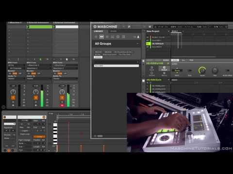 Maschine 2.0 Workaround for recording MIDI into Ableton Live 9 in realtime
