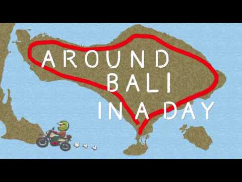 [Bali] Motorcycle Touring : Around Bali In 1 Day / sepeda motor 摩托车旅游巴厘岛バリ島をバイクで一周