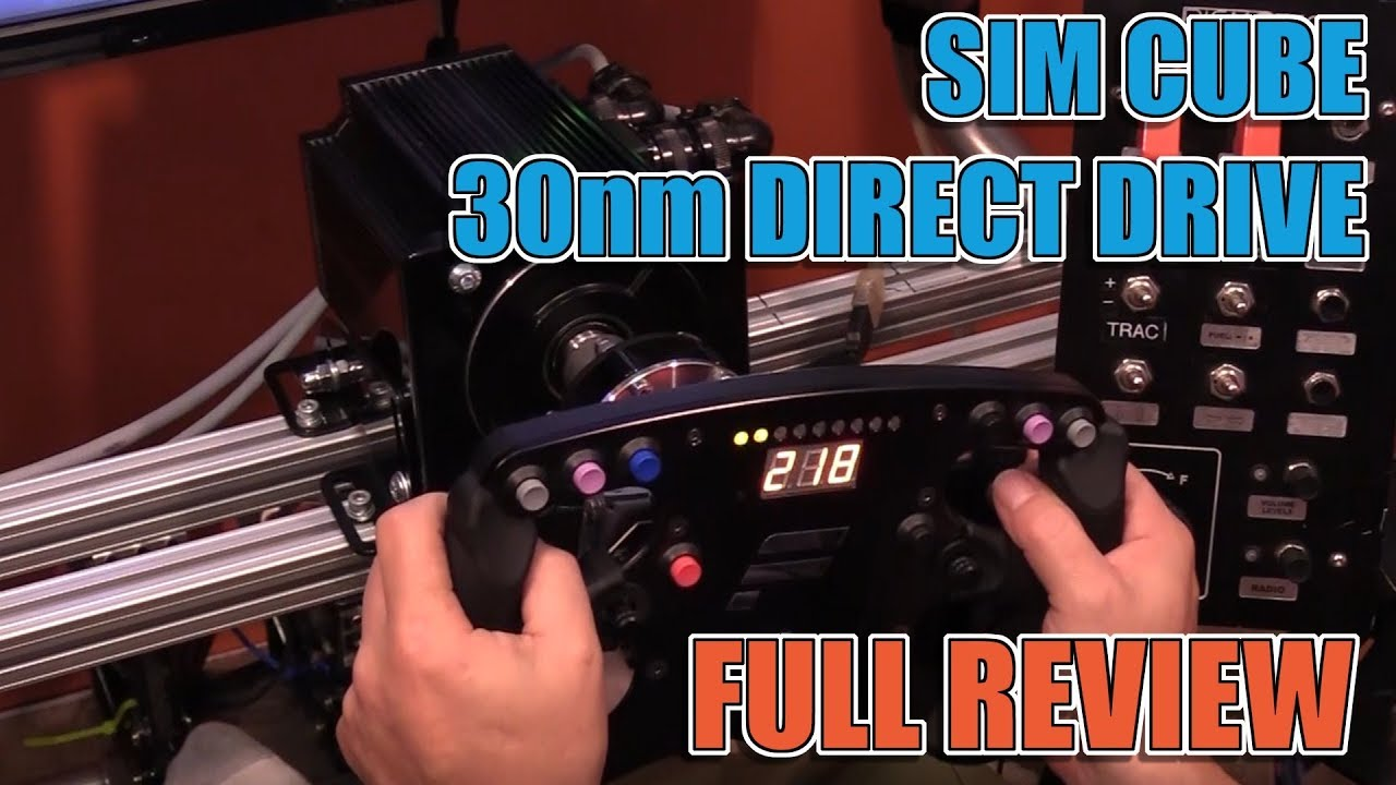 Sim Cube 30nm Direct Drive Wheel Base Review