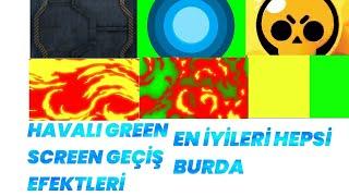 Havalı Geçiş Efektleri Green Screen - Green Screen Effects - Green Screen Video