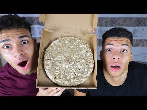 BESTELLE NIEMALS NACHTS EINE PIZZA !!! (GOLDENE PIZZA) | PrankBrosTV