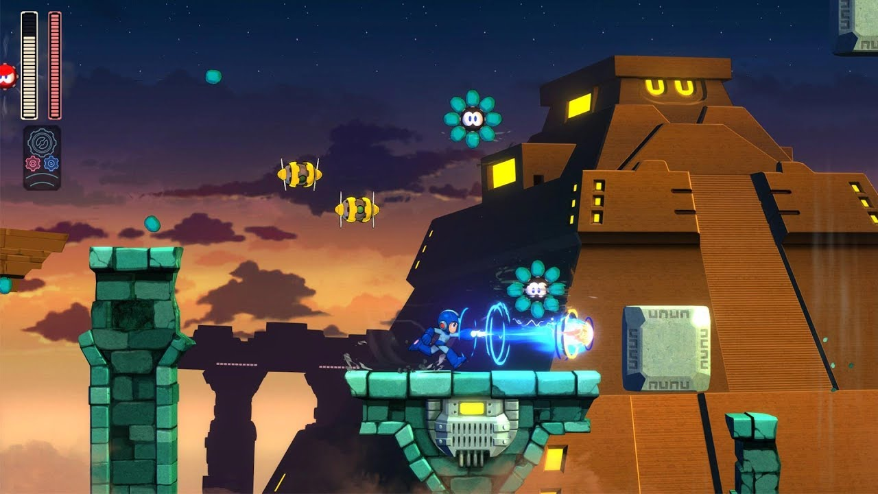 PS4《Mega Man 11》宣传影像