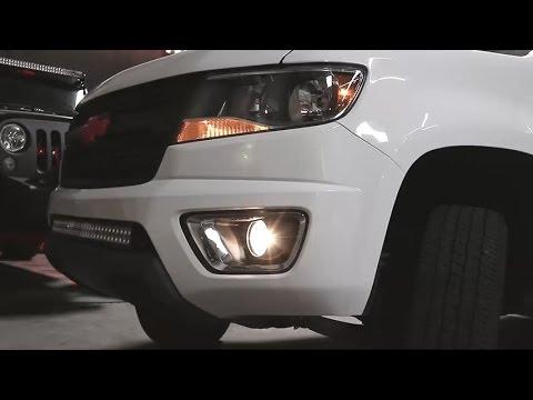 Spyder Auto Fog Lights On 2017 Chevy Colorado