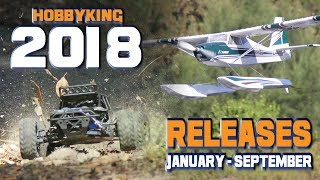 Hobbyking 2018 Releases - January To September Compilation