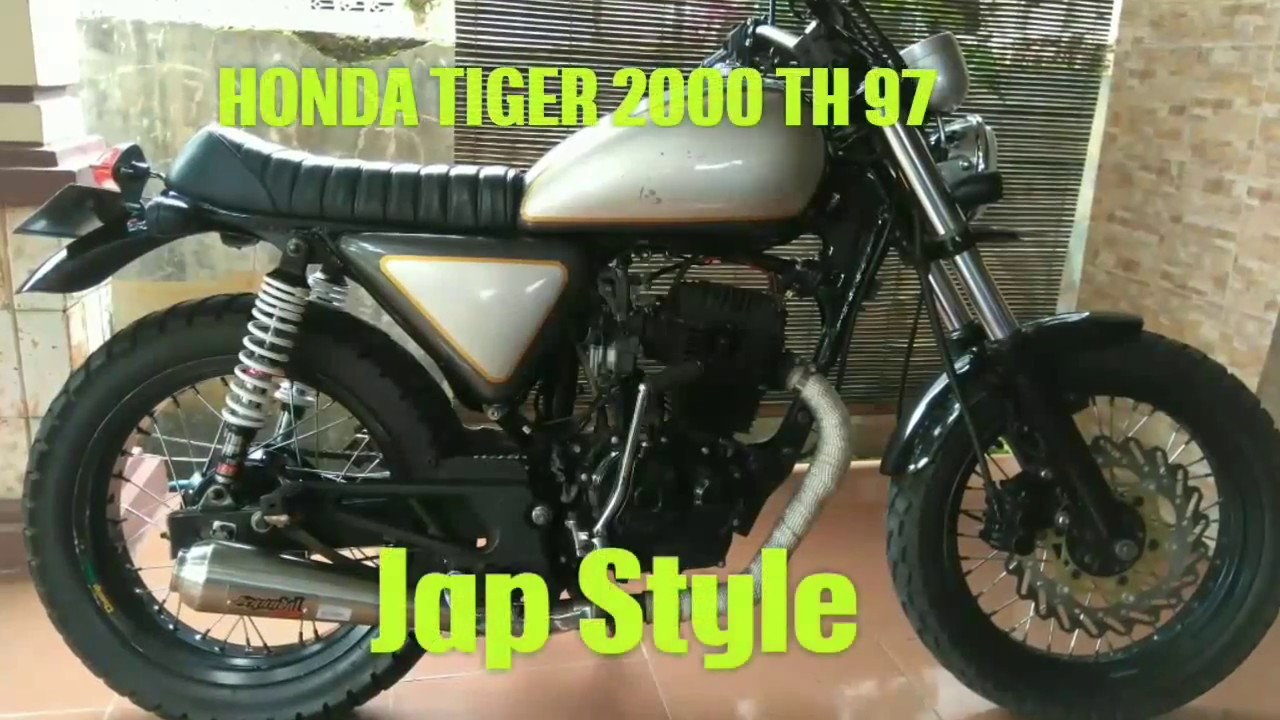 honda tiger 2000 tahun 97 #japstyle #classis #retro - youtube