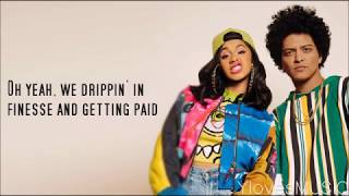 Video Bruno Mars ft. Cardi B - Finesse (Lyrics) download MP3, 3GP, MP4, WEBM, AVI, FLV Oktober 2018