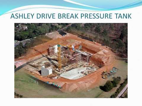 Ashley Drive Break Pressure Tank - 2016 SAICE Durban Branch Technical Excellence Award
