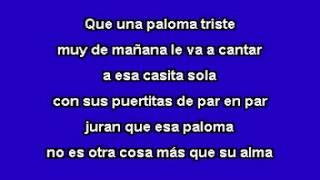 Cucurrucucú paloma - Karaoke