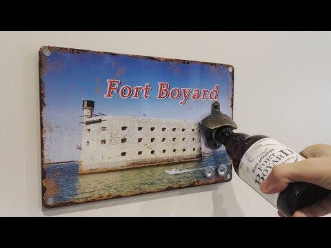 [Mini Tuto] Décapsuleur mural Fort Boyard