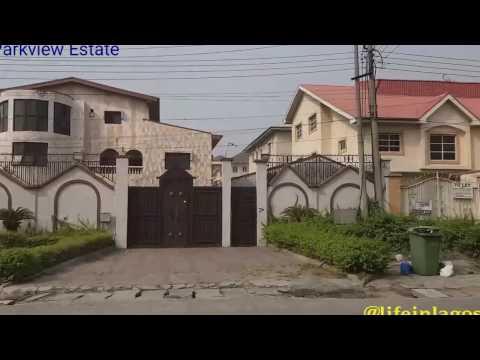Lagos, Nigeria Trip: A visit to Parkview Estate Ikoyi, Lagos.